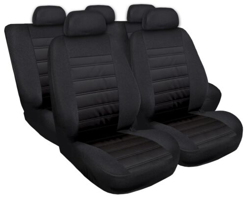 Sitzbezüge Sitzbezug Schonbezüge für Hyundai ix35 Schwarz Modern MG-1 Set