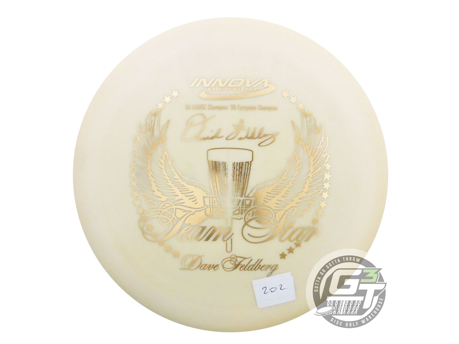 nouveau Innova Pro Destroyer 175g blanc 20 100 Team Star FELDBERG COLLECTION