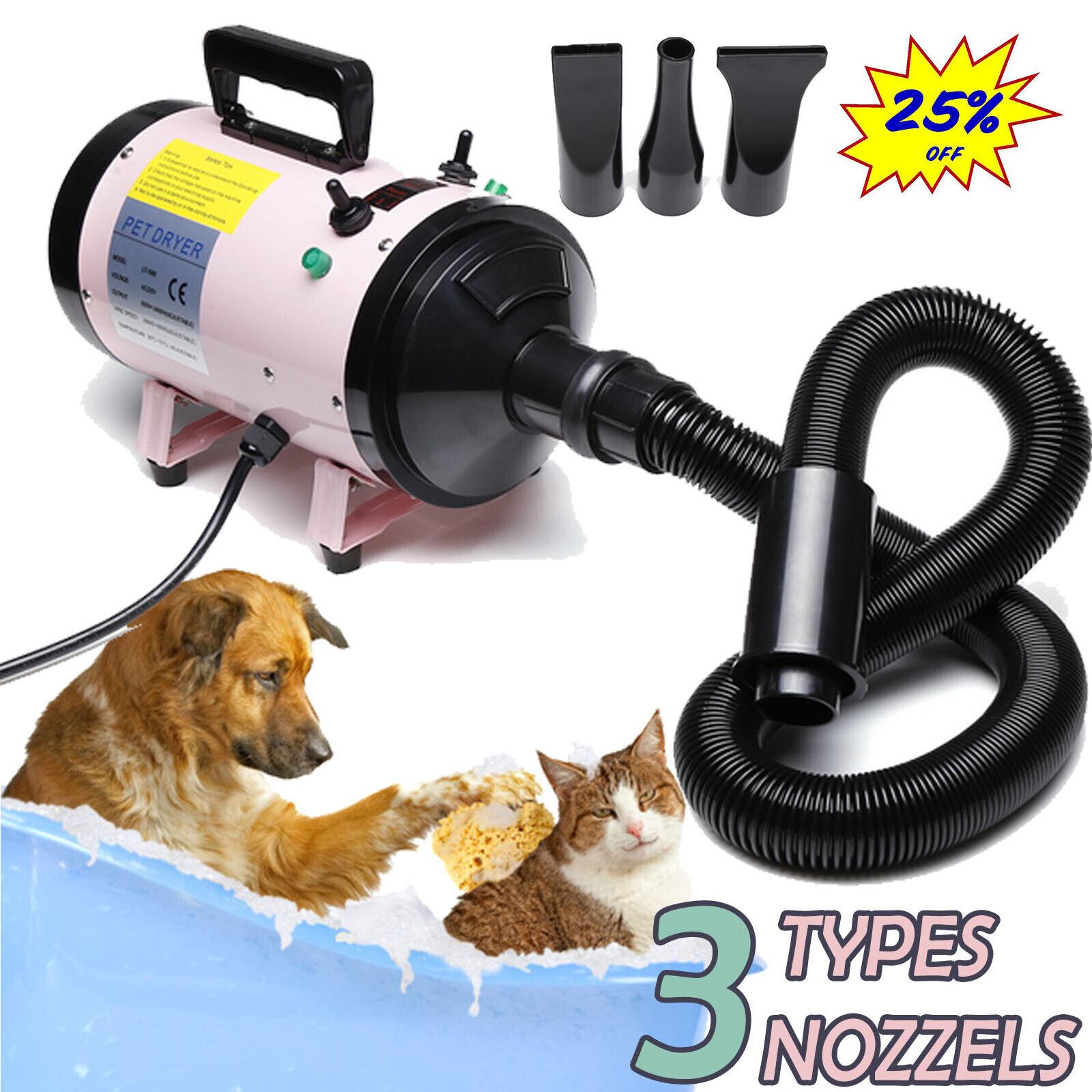 2800W Dog Cat Pet Dryer Grooming Hair Heater Speed Blaster Blower Heater Upgarde