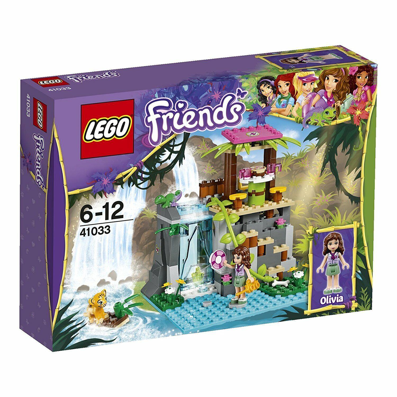 LEGO FRIENDS 41033 SAUVETAGE DANS LES CASCADES DE LA JUNGLE NEUF SCELLE (abîmé)