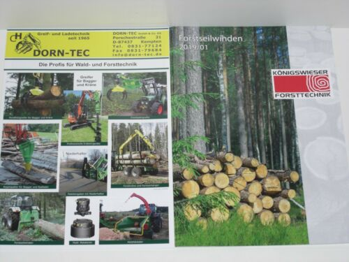 9193 DORN-TEC KÖNIGSWIESER Forsttechnik Prospekte