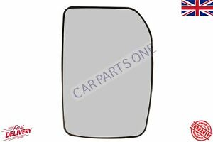 FORD TRANSIT 2000/> MK6 /& MK7 ELECTRIC HEATED MIRROR DRIVER SIDE OFF SIDE GLASS