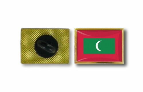 pins pin/'s flag national badge metal lapel backpack hat button vest maldives