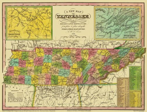 Tennessee Tanner 1833-30 x 23