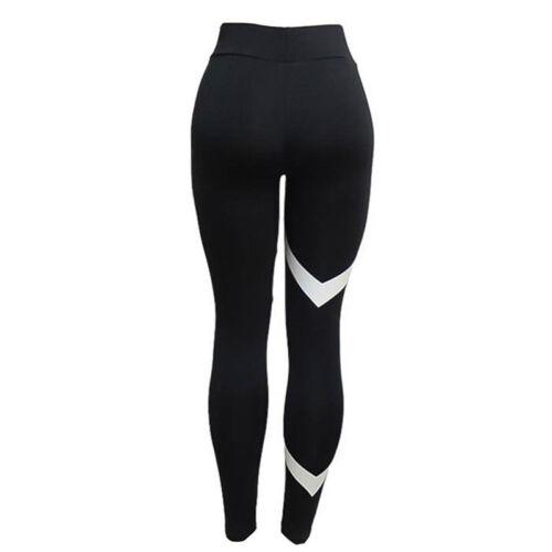 Women High Waist Yoga Fitness Leggings Sports Pants Running Gym Stretch Trousers