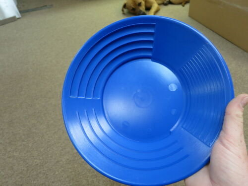 """Brand New 10/"""" MARTIN Prospecting GOLD PAN Kit  Made In INMAN SC BLUE"""
