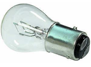 Box Of 10 No Stop//Brake /& Tail Light Bulbs Twin 12v 21//4w Clear 566