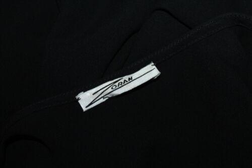 ZORAN Iconic Lux 100% Silk BLACK Lux Open 3/4 Minimalist Jacket O/S S M L