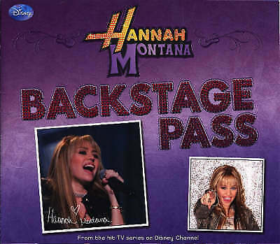 Backstage Pass (Disney Hannah Montana Ology), by Disney, Excellent Book