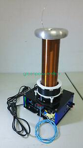 Details about Half - Bridge Solid State Tesla Coil With Arc And Drive Play  Music DS07 G