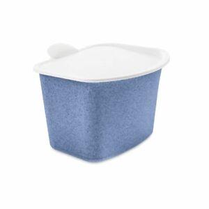Koziol Bio Abfallbehälter organic blue Tischabfalleimer Tischabfallbehälter blau