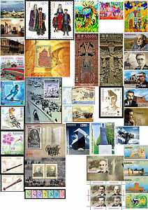 Rare Nanjing Latest Technology 5 S/s 1 S/sheet Armenia Mnh** 2014 Complete Full Year 38 Stamps