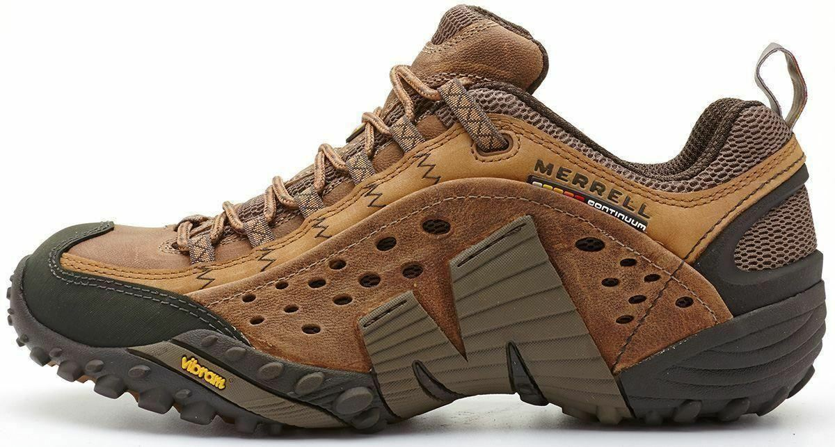 Merrell Intercept Hiking schuhe in Moth braun J73705