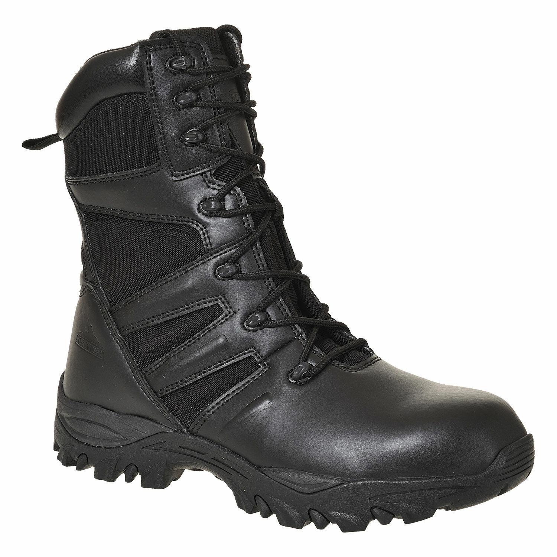 Mens Safety Work Boot Taskforce shoes Steel Toe Cap Slip Resistant, Portwest FW65