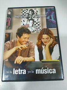 Tu-la-Letra-Yo-La-Musica-Hugh-Grant-Drew-Barrymore-DVD-Espanol-Ingles-Am