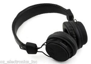 Black Wireless Stereo Bluetooth Headphones For Iphone 8 10 Oppo Samsung Galaxy Ebay