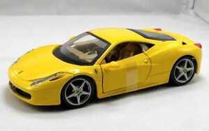 BURAGO-1-24-RACE-amp-PLAY-AUTO-FERRARI-458-ITALIA-GIALLA-ART-18-26003