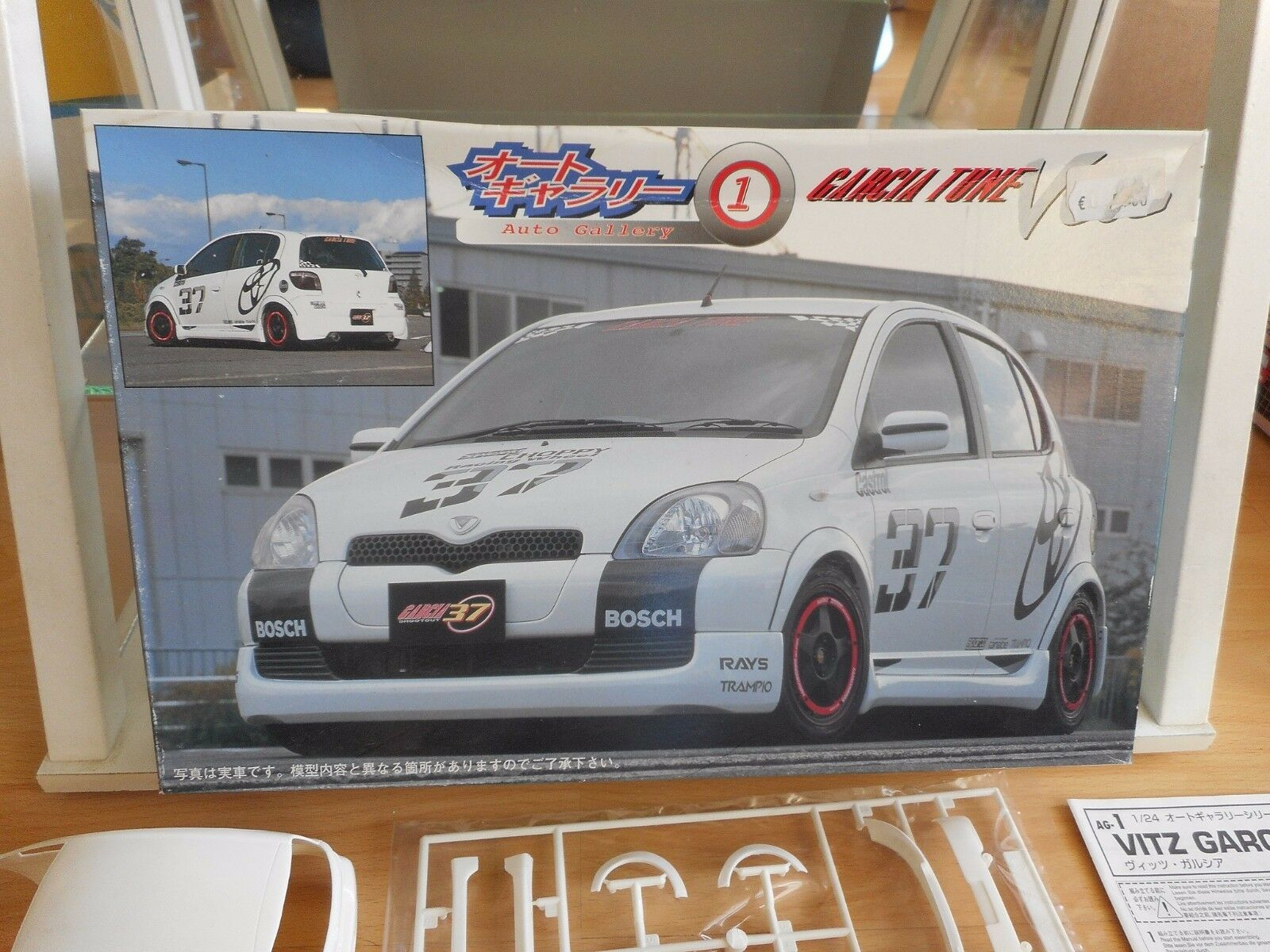 Modelkit Fujimi Toyota Vitz Garcia Tune on 1 24 in Box
