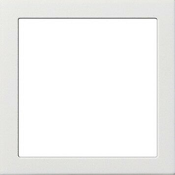 Gira Adapterrahmen mit quadratischem Ausschnitt 55x55mm 0289112 Reinweiß Gl.