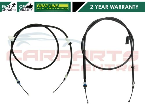 FOR FORD GALAXY MONDEO MK4 SMAX S-MAX 06-15 REAR HANDBRAKE BRAKE CABLES PAIR