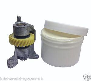 Kitchenaid worm pinion gear bracket wp240309 2 130g tub of grease repair ebay - Food grade grease kitchenaid ...