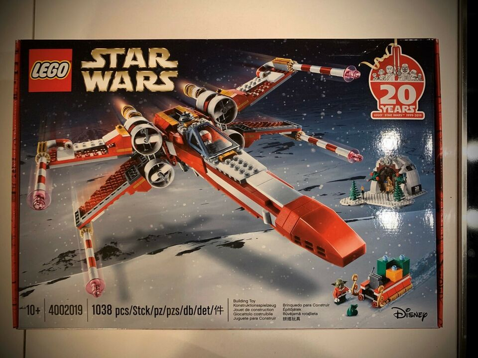 Lego Exclusives, Lego Exclusive -Star Wars X Wing fighter