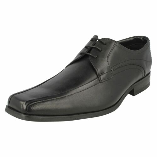 encaje Clarks de Gents Smart zapatos Croyden Park negro rqCwqYFv
