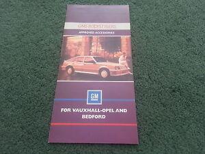1986-GMS-BODYSTYLERS-Vauxhall-Nova-Astra-Cavalier-UK-6pg-COLOUR-FOLDER-BROCHURE