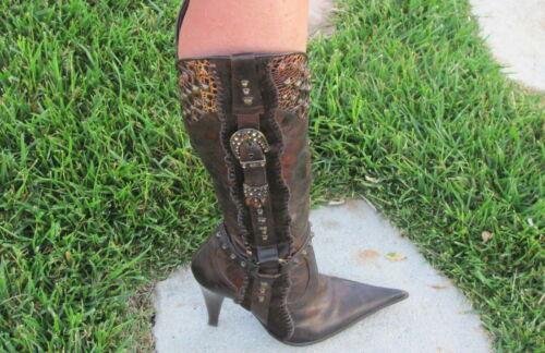 BOOTS: EL DANTES Fashion WESTERN BOOT SPAIN Embell