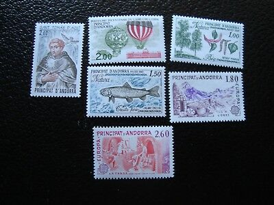 col1 - Timbre Yvert Et Tellier N° 309 A 314 N** Mnh Relieving Heat And Thirst. Andorre francais