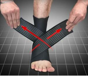 Sports-Ankle-Support-Brace-Sprain-Strap-Stabiliser-Guard-Pad-Sock-Foot-Pain-ZXX