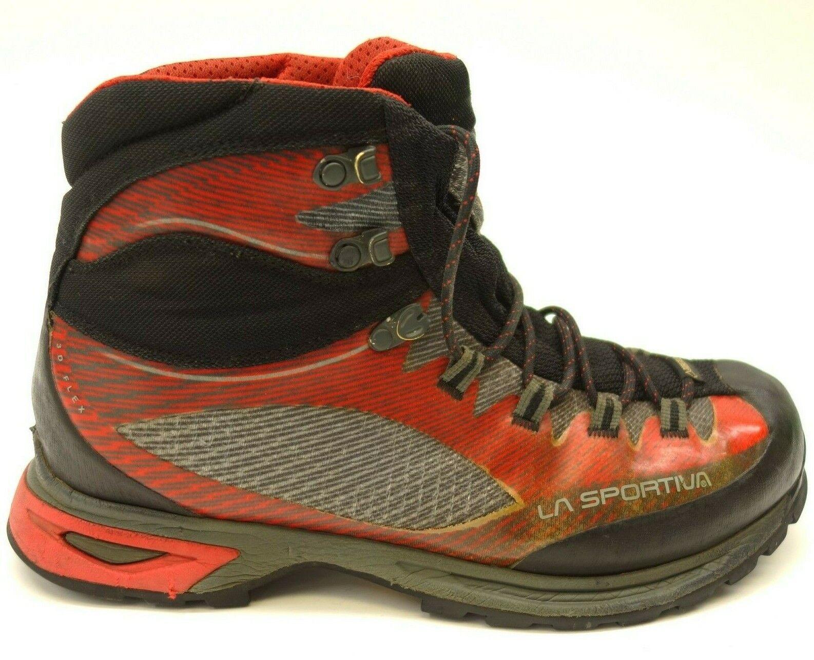 La Sportiva Trango TRK GTX Sz 9.5 Red Athletic Hiking Mens Boots