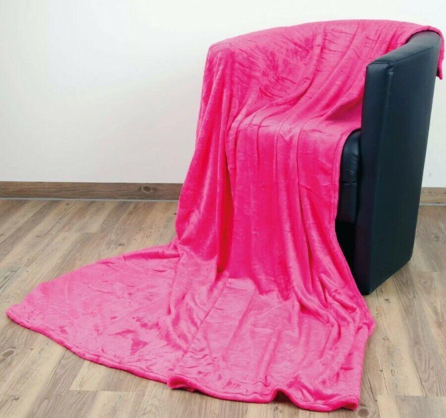 Decke Pink kuschelig Kinder Sofa deko schlafen