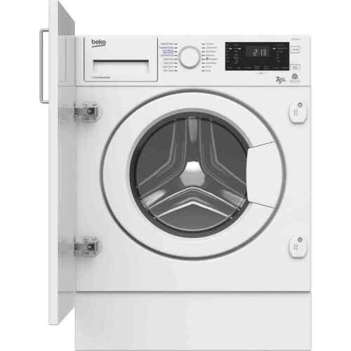 Beko WDIR7543101 Built In 7Kg A Washer Dryer White New from AO