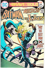 BRAVE AND THE BOLD 118 - JOKER APP (BRONZE AGE 1975) - 8.5
