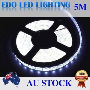5050-SMD-Cool-White-Waterproof-5M-300Leds-LED-Strips-Strip-Light-Lamp