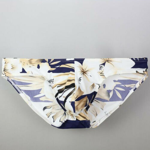 Triangle Briefs Panties Casual Men/'s Underwear Printed Seamless Breathable