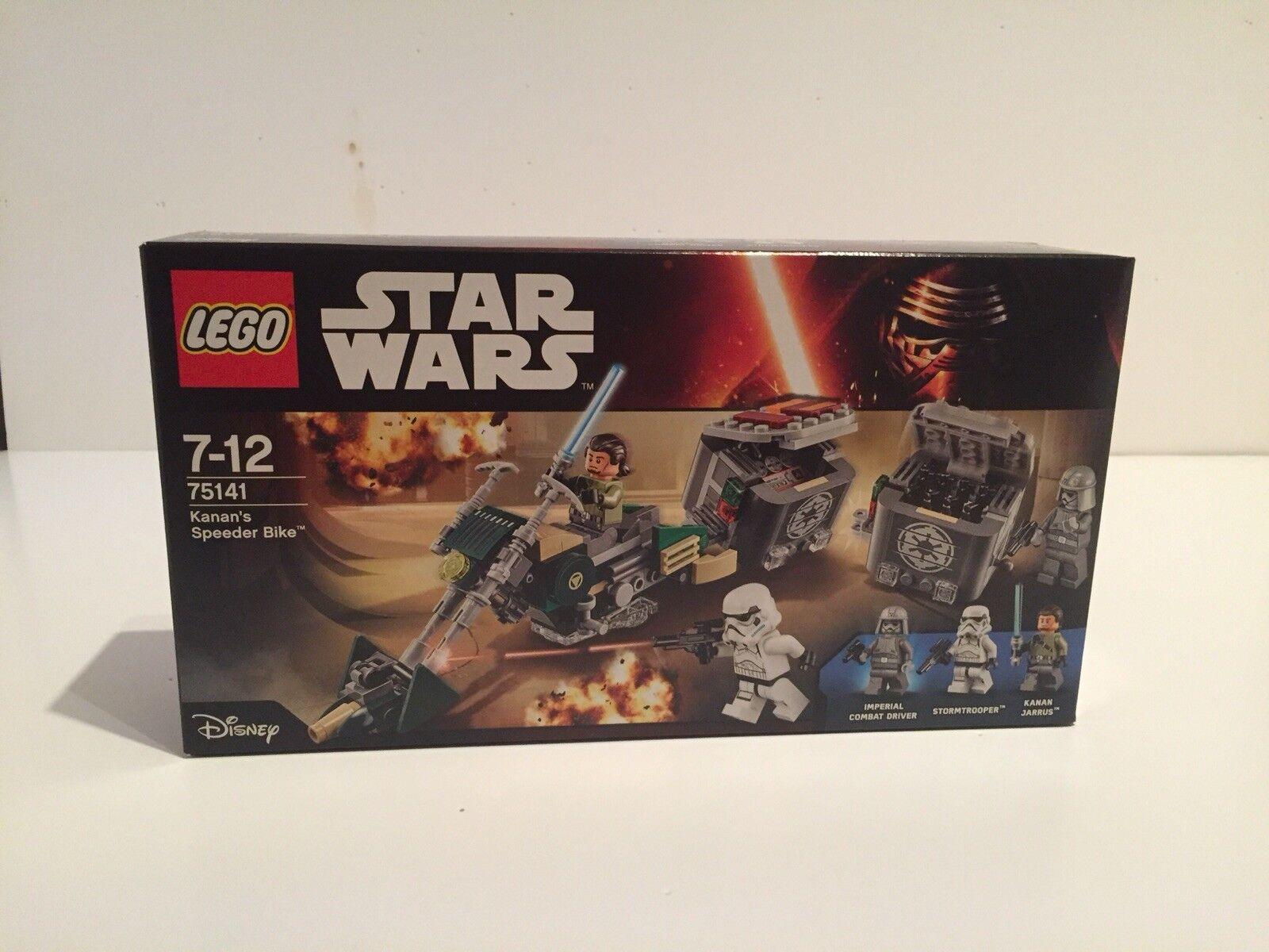 Lego Star Wars 75141 kanan's  speeder Bike brand new
