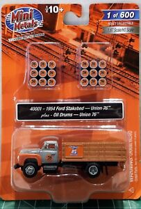 HO-Scale-Classic-Metal-Works-1954-Stakebed-amp-Oil-Drums-039-Limited-Run-039-Item-40001