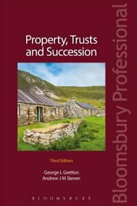 Property-Trusts-and-Succession-by-Andrew-Steven-9781526500564-Brand-New