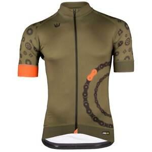 Vermarc Curve PRR Short Sleeve Cycling Jersey Blue Black RRP £98.99