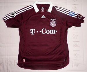 MAKAAY-Adidas-Bayern-Munich-trikot-Munchen-camiseta-Champions-League-2006-2007