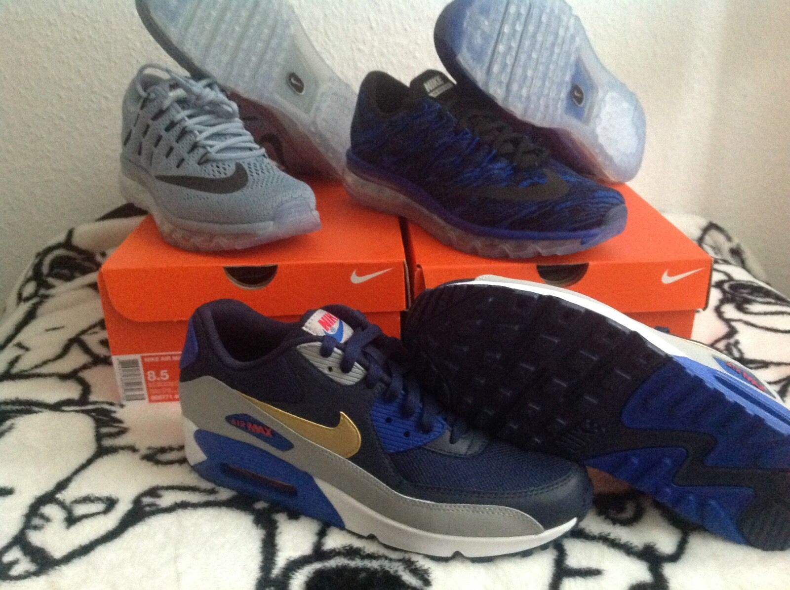 NUOVO Nike Air Max 90 Essential 42