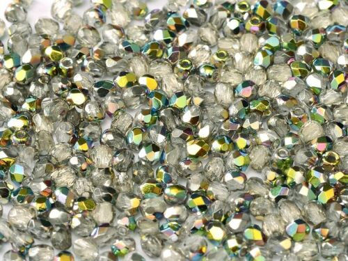 Crystal Vitrail Czech Fire Polished Beads 2mm,3mm,4mm /& 6mm Sizes