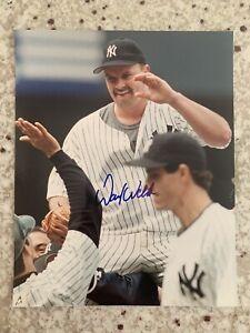 David-Wells-Signed-New-York-Yankees-8x10-Photo-Perfect-Game