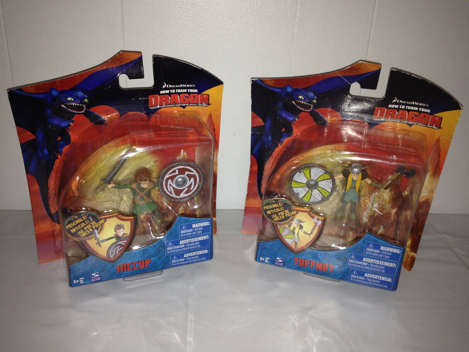 HOW TO TRAIN YOUR DRAGON Series 3 Spin Master azione cifra Lot Tuffnut Hiccup