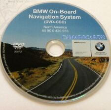 2007 2008 2009 BMW E70 X5 3.0si si 4.8i Navigation DVD 555 Map Edition © 2007.2
