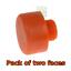 2-x-THOR-416pf-50mm-ricambio-sostituzione-delle-facce-in-plastica-per-Martello-tho416-COPPIA miniatura 1