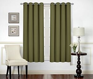 Blackout Room Darkening Curtains Window Curtain Drapes