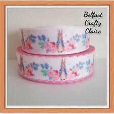 22 mm wide  Dummy Hair Bows Birthday Cake Card Betty Boop Themed Ribbon